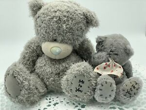 Me To You Tatty Teddy Bear Lot X 2 Tissue, Love Hearts, Blue Nose, Carte Blanche