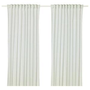 IKEA  HANNALILL Gardinen Vorhang (145x300cm) 2 Gardinenschal hellgrün Neu