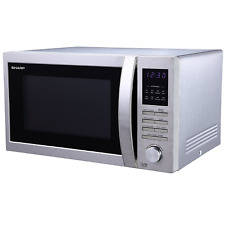 Sharp R322STM 25L 900W Solo Microwave-Stainless Steel