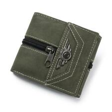 Matte Wallet Men Soft Leather wallet with removable card slots male clutch