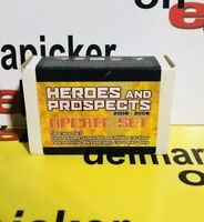 2005-06 ITG Heroes & Prospects Update Hockey Set Pulled From Case w Auto/Jersey