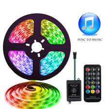 WOW - Dream Color Sync to Music LED Strip Lights 5M 5050 IP65 RGB LED Mood Light