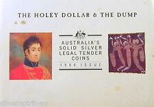 1990 HOLEY DOLLAR & DUMP Silver Coin Set 1.25oz Silver