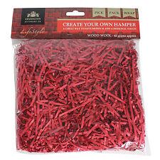 Ostacolare KIT riempimento - 42g BAG triturati lana di legno rosso