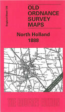OLD ORDNANCE SURVEY MAP NORTH HOLLAND 1888 BOSTON SIBSEY SWINESHEAD DONINGTON