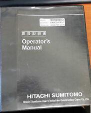 Hitachi Sumitomo SCX2800-2 Operators Manual
