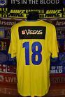 5/5 Sweden adults XXL 2013 #18 leisure football shirt jersey trikot soccer
