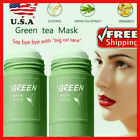 2 Pack Green Tea Purifying Clay Stick Mask Anti-Acne Deep cleansing Oil control