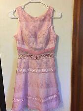 Women's Dress Pink Sleeveless Size S - super cute