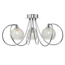 Rafferty 3lt Semi Flush Polished Chrome