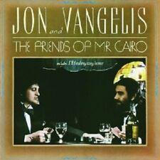 JON & VANGELIS - THE FRIENDS OF MR.CAIRO  CD 7 TRACKS INSTRUMENTAL ART ROCK NEU