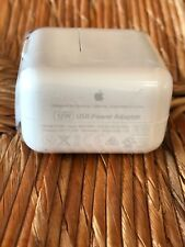 GENUINE  APPLE 12W USB Power Adapter Wall Charger Model A1401