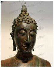 16x20 Poster Gautama Bronze Buddha Head Wonderful Full Color #BUDA