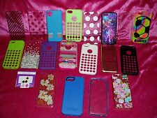 "Wow!, Lot of 19, iPhone 5c Cases"", Beautiful patterns & colors, fast shipping!"