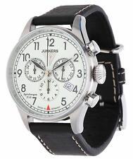 Junkers Herren Armbanduhr Spitzbergen F13 Chronograph dunkelbraun 6186-5