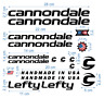 Cannondale Die-Cut Decals Stickers Bicycle Graphic Aufkleber Adesivi /626