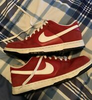 ❕❗️Nike Dunk Low Sport Red Men's Size 10.5 SB Red/White/Black Great Condition👟✅