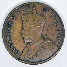 1929 George V Centenary Of Western Australia Medal Copper