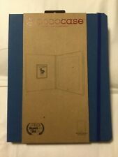 DODOcase Blue Hardcover Bamboo Case for iPad 2 Folio Case NEW! Dodo Case