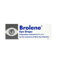 Brolene 10 ML piccole infezioni batteriche Occhio Gocce
