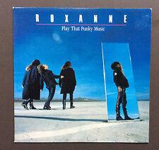 "ROXANNE - Play That Funky Music 7"" Vinyl Single Record Good 1988 UK Pressing"