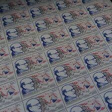 FEUILLE SHEET TIMBRE AVIATION MARCEL DASSAULT N°2502 x40 1988 NEUF ** LUXE MNH
