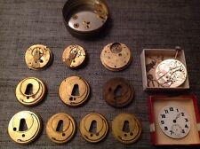Pocket Watch Movements J G Graves Others Swiss Watchmakers Spare Parts