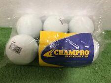 Champro Sports Lacrosse Balls White Lax (1/2 Dozen) Nip