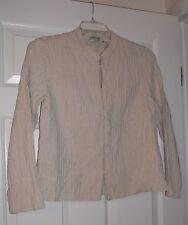 Orvis 100% Linen Asian Tunic Shirt Size Medium M
