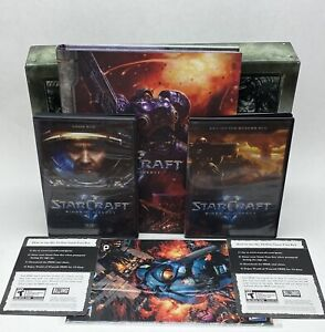StarCraft II: Wings of Liberty Collector's Edition Used Only Has What You See