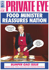 PRIVATE EYE 1334 -  22 Feb - 7 Mar 2013 - Owen Paterson -FOOD MINISTER REASSURES