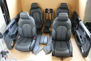 Audi A8 4H D4 Equipaggiamento Interno Pelle Pannello Porta Ventilazione Neuwert