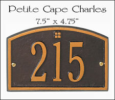 Whitehall Cape Charles Petite Size Address Marker Personalized Plaque 17 Colors