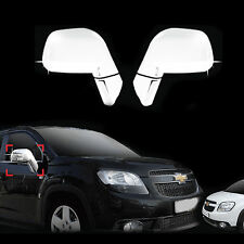 Chrome Side Rear View Mirror Molding Trim Cover for 10+ Chevrolet Orlando