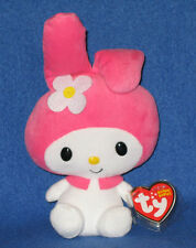 TY MY MELODY BEANIE BABY - MINT (HELLO KITTY SANRIO) - MINT with MINT TAGS