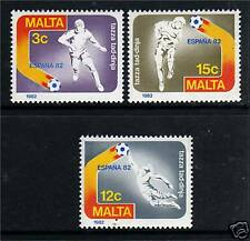 Malta 1982 World Cup Football-Spain SG694/6 MNH