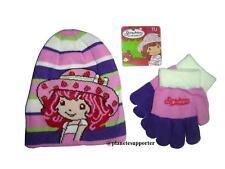 362695cd7f0b4 Bonnet + gants CHARLOTTE AUX FRAISES Taille 3 4 5 6 ans !!! enfant