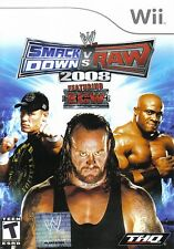 WWE SmackDown vs. Raw 2008 Featuring ECW Wii - LN