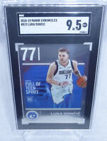 2018-19 Panini Chronicles Luka Doncic Rookie Card #512 Graded Gem Mint+ 9.5