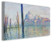Quadro moderno Claude Monet vol III stampa su tela canvas pittori famosi