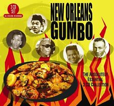 Various - New Orleans Gumbo - Absolutely Essential 3CD Collection  (2016)  NEW