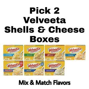 Pick 2 Velveeta Shells & Cheese Boxes