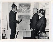 TED KENNEDY original wire photo 1964 JFK