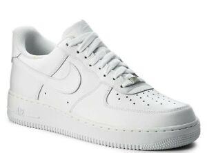 Nike Air Force 1' 07 Herrenschuhe Turnschuhe  Leder Sneakers  315122 111 SALE %%