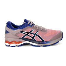 ASICS Women's Kayano 26 Violet Blush/Dive Blue Running Shoes 1012A457.500 NEW