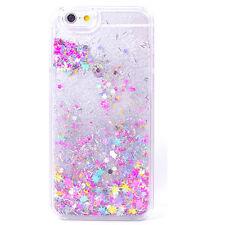 Bling Dynamic Liquid Quicksand Glitter Paillette Transparent Phone Case Cover