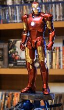 Hot Toys QS012 Iron Man Mark 3 III 1/4 Tony Stark Figure Deluxe Version In Sto