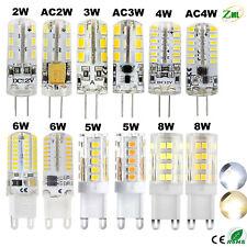 G9 G4 LED Bulb 2W 3W 4W 5W 6W 8W Capsule Light replace Halogen Lamp 12V/220V new