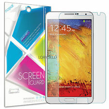 [6-Piece] Samsung Galaxy Note 3 Screen Protector HD Clear Anti-Scratch Guard