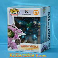 Overwatch - D.Va and MEKA (Blueberry) 15cm Pop! Vinyl Figure 2-Pack (RS)